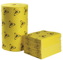 Roll absorbent / pad / for chemicals