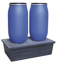 2-drum spill pallet / polyethylene