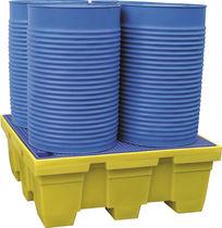 4-drum spill pallet / plastic