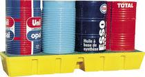 4-drum spill pallet / polyethylene