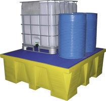 Heavy load spill pallet / polyethylene
