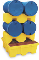 Drum support / stacking / PE
