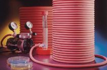 Gas hose / for medical applications / rubber