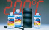 Fluoroelastomer hose / for abrasive fluids / for corrosive fluids / conveying