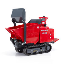 Tracked mini dumper / diesel / front-loading / lift-skip