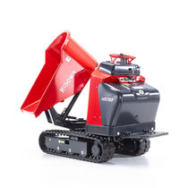 Tracked mini dumper / diesel / swivel-skip