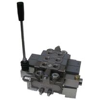 Spool hydraulic directional control valve / lever-operated / 6-way