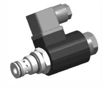 Direct-operated solenoid valve / 2-way / NC / hydraulic