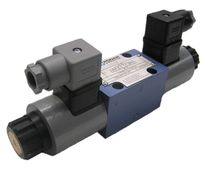 Spool electrically operated valve / directional / 2-way / hydraulic