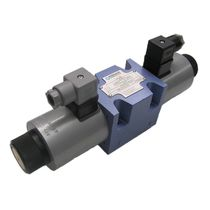 Spool hydraulic directional control valve / electrically-operated / 3-way