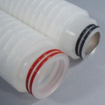 Depth filter cartridge / nylon / for solvents / membrane