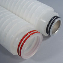 PVDF filter cartridge / membrane / for biopharmaceutical applications