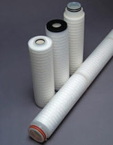 PVDF filter cartridge / high-capacity / membrane
