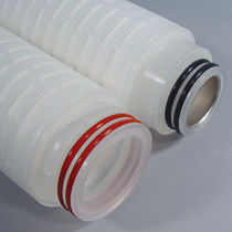 Polypropylene filter cartridge / membrane / for the electronics industry