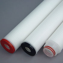 Depth filter cartridge / polypropylene / pleated