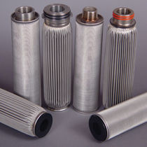 Liquid filter cartridge / fine / stainless steel