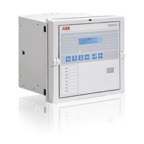 Panel-mount protection relay / programmable / digital / multifunction