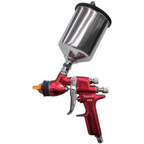 Spray gun / finishing / for paint / manual