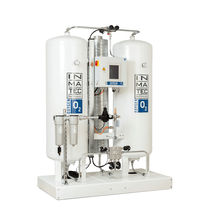 Pure oxygen gas generator / process / laboratory / compact