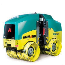 Trench compactor road roller / articulated / vibrating