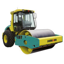 Single-cylinder road roller / articulated / vibrating