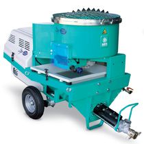 Plastering machine for mortars, plasters