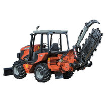Chain trencher / rubber-tired / ride-on / tractor