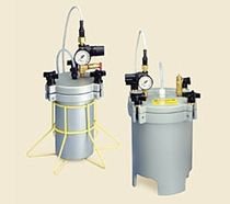 Metal tank / pressure / fluid collection / vertical