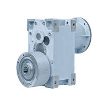 Parallel-shaft gear reducer / high-performance / for extruders