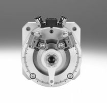 Rotary actuator / pneumatic / double-acting / with integrated displacement encoder