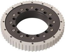 External-toothed slewing ring / ball / single-row