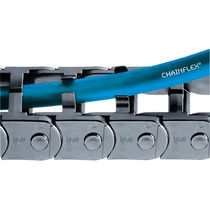 Polyamide drag chain / slip / simple installation / small-size