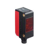 Through-beam photoelectric sensor / rectangular / infrared / LED