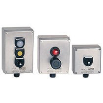 3-button pendant station / IP65 / plastic / extremely flexible