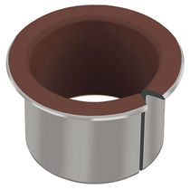 Metal plain bearing / polymer / lead-free / for compressors