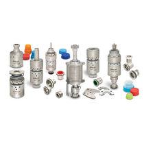 Round plug / male / metal / clutch