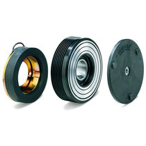 Friction clutch / electromagnetic / air conditioning compressor / for high-torque applications