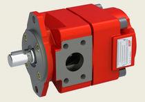 Internal-gear hydraulic pump / compact / single-stage