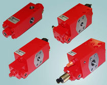 Hydraulically-operated valve / for oil / zero-bleed / high-pressure