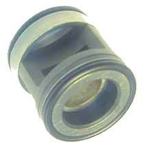 Disc check valve / high-pressure / compact