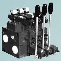 Spool hydraulic directional control valve / compact / sectional / proportional