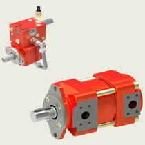 Internal-gear pump / bi-directional / low-vibration / low-noise
