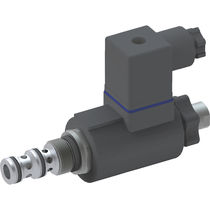 Compact hydraulic directional control valve / cartridge