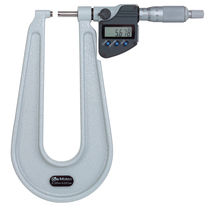 Thickness micrometer / digital / ratchet / waterproof