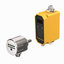 Thermal flow sensor / for liquids