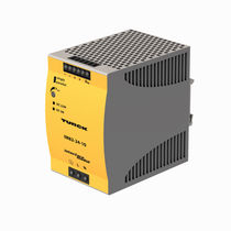 AC/DC power supply / DIN rail / with surge protection / switching