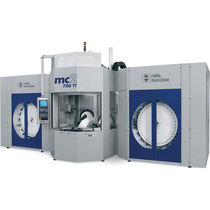 5-axis CNC horizontal machining center max. ø 700 x 840 mm | mc2-700 TT Riello Macchine Transfer