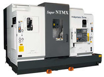 5 axis CNC mill-turn center max. ø 200 x 780 mm | Super NTMX/MX 5 Nakamura-Tome