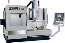 5-axis CNC universal machining center max. 1 520 x 520 x 460 mm | U series Spinner