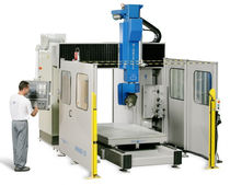 5-axis CNC universal machining center max. 2050 x 3100 x 900 mm | NORMAPROFIL WINNER line MECANUMERIC